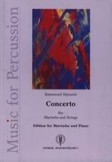 Emmanuel Séjourné - Concerto for marimba and string orchestra - Sheet Music - di-arezzo.co.uk