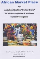 African Market Place - Abdullah Ibrahim - Partition - laflutedepan.com