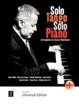 Solo Tango - Volume 1 Partition Musiques du monde - laflutedepan.com