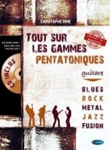 Tout sur les gammes pentatoniques - Christophe Rime - laflutedepan.com