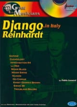 Django Reinhardt - Série Great Musicians... In Italy - Partition - di-arezzo.fr