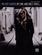 My One And Only Thrill - Melody Gardot - Partition - laflutedepan.com