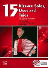 15 Klezmer Solos, Duos And Trios Emil Kroitor laflutedepan.com