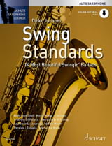 Swing Standards Partition Saxophone - laflutedepan.com