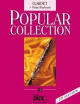 Popular collection volume 10 Partition Clarinette - laflutedepan.com
