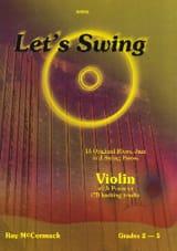 Let's Swing Roy McCormack Partition Violon - laflutedepan