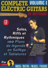 Jean-Jacques Rébillard - Complete electric guitars volume 1 - Partition - di-arezzo.fr
