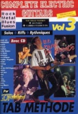 Jean-Jacques Rébillard - Complete electric guitars volume 3 - Sheet Music - di-arezzo.com