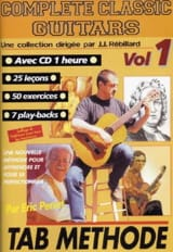 Perrot Eric / Rébillard Jean-Jacques - Complete classic guitars volume 1 - Partition - di-arezzo.fr
