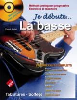 Je débute la basse Pascal Sarfati Partition Guitare - laflutedepan.com
