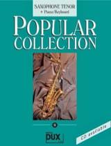 Popular collection volume 9 Partition Saxophone - laflutedepan.com