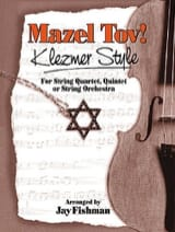 Mazel tov! Klezmer style Jay Fishman Partition laflutedepan.com