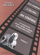 Georges Delerue - The violin is invited to the cinema volume 1 - Sheet Music - di-arezzo.co.uk