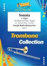 Sonate C Dur BOISMORTIER Partition Trombone - laflutedepan.com