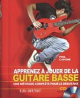 Phil Capone - Learn To Play Bass Guitar - Sheet Music - di-arezzo.co.uk