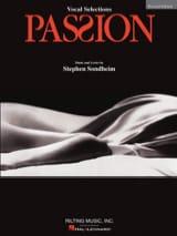 Passion - Vocal Selections Stephen Sondheim Partition laflutedepan.com