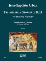 Jean-Baptiste Arban - Fantasia Sulla Carmen Di Bizet - Partition - di-arezzo.fr