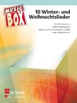 10 Winter und weihnachtslieder - music box Noël Partition laflutedepan