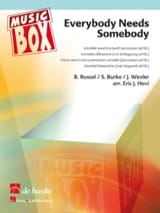 The Blues Brothers, Solomon Burke, etc. - Everybody needs somebody - music box - Partition - di-arezzo.fr