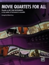 Movie quartets for all Partition Trombone - laflutedepan