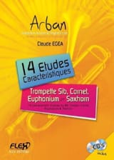 Jean-Baptiste Arban - 14 Studies Characteristics - Bb Instruments - Sheet Music - di-arezzo.co.uk