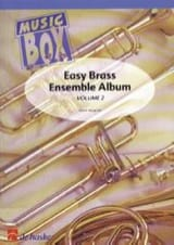 Easy brass ensemble album volume 2 - music box - laflutedepan.com