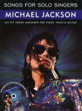 Michael Jackson - Songs For Solo Singers - Sheet Music - di-arezzo.co.uk