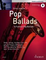 Pop Ballads Partition Saxophone - laflutedepan.com