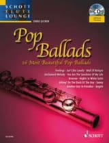Pop Ballads Partition Flûte traversière - laflutedepan.com