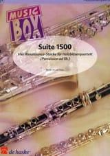 Suite 1500 - music box Jan De Haan Partition laflutedepan.com