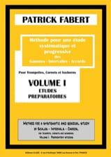 Méthode - Volume 1 - Patrick Fabert - Partition - laflutedepan.com