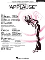Charles Strouse - Applause - Vocal Selections - Partition - di-arezzo.fr