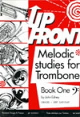 Up Front - Melodic Studies For Trombone Book One (Fa) - laflutedepan.com