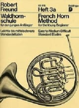 Robert Freund - French Horn Method For The Young Beginner Heft 3a - Partition - di-arezzo.fr