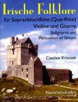 Czeslaw Kroczek - Irische Folklore 1 - Partition - di-arezzo.fr