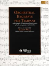- Orchestral Excerpts For Timpani - Sheet Music - di-arezzo.com