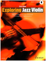 Exploring Jazz Violin Chris Haigh Partition Violon - laflutedepan.com