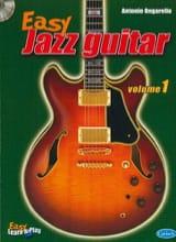 Easy Jazz Guitar Volume 1 Antonio Ongarello Partition laflutedepan.com