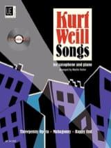 Songs - Kurt Weill - Partition - Saxophone - laflutedepan.com