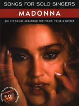 Madonna - Songs For Solo Singers - Partition - di-arezzo.fr