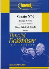 Sonate N° 6 - Georg Friedrich Haendel - Partition - laflutedepan.com