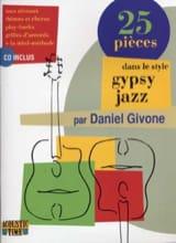 25 Pièces dans le Style Gypsy Jazz Daniel Givone laflutedepan.com