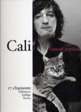 L' Amour Parfait - 17 Chansons Cali Partition laflutedepan.com