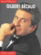 Gilbert Becaud - Collection Grands Interprètes - Partition - di-arezzo.fr