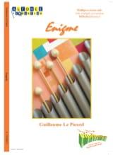 Picard Guillaume Le - Enigma - Sheet Music - di-arezzo.co.uk