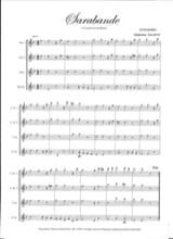 Sarabande HAENDEL Partition Saxophone - laflutedepan.com