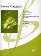 Etudes - Extraites des 40 Etudes Edmond Vobaron Partition laflutedepan