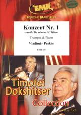 Konzert Nr. 1 in C moll Vladimir Peskin Partition laflutedepan.com