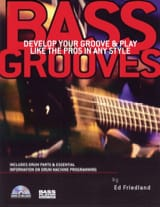 Ed Friedland - Bass Grooves + CD - Partition - di-arezzo.fr
