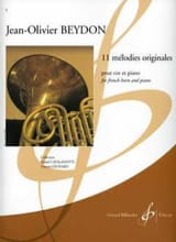 Jean-Olivier Beydon - 11 Original Melodies - Sheet Music - di-arezzo.co.uk